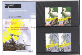 NVPH M204 (PZM204) Postfris Vogels 1999