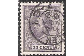 HAARLEM 25-11-1887 op NVPH 26 FOTOLEVERING