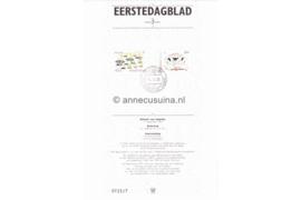 Nederland Importa EDB3 (NVPH 1225-1226) Eerstedagblad Europa-CEPT, folklore 1981
