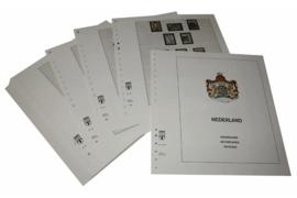 Lindner Inhouden / T-Voordruk albumbladen met folie voorbladen met stroken (Inhoud) Nederland 1990-1998 in kleur (46 bladen) (Lindner 191-90)
