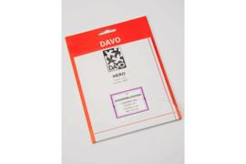 DAVO Nero stroken N01 (voor kinderblokken) 10 stuks