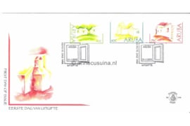 NVPH E101-E150 1e Dag-env. (FDC's)