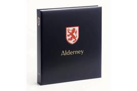 DAVO Luxe postzegelalbum Alderney I 1983-2015 INCL. LUXE CASSETTE