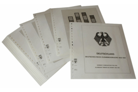 Lindner Inhouden / T-Voordruk albumbladen met folie voorbladen met stroken (Inhoud) Duitse Rijk Combinaties 1933-1941 (40 bladen) (Lindner 116Z)