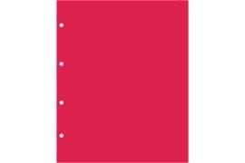 Hartberger LKR Rood tussenbladen (per stuk)