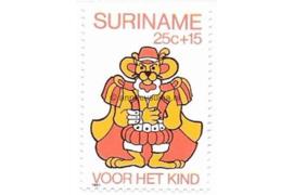 Zonnebloem 225 Postfris (25+15 cent) Kinderzegels met toeslag ten bate van het kind 1980