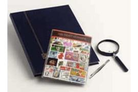Oost-Europa Postzegelpakket incl. insteekboek, pincet en loupe