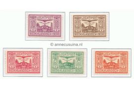 NVPH LP6-LP10 Gestempeld Allegorische voorstelling 1928