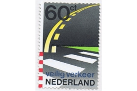 NVPH 1270 Postfris 50 jaar Veilig Verkeer Nederland 1982
