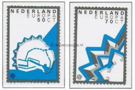 NVPH 1271-1272 Postfris Europa-CEPT, Historische vestigingen 1982