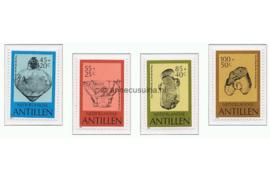 Nederlandse Antillen NVPH 754-757 Postfris Cultuur Pre-Colombiaans aardewerk 1983