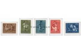 Nederland NVPH 649-653 Postfris Kinderzegels 1954