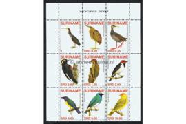 Zonnebloem 1458-1466 Postfris Vogels 2007