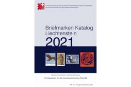 SBK Liechtenstein Briefmarken Katalog 2021