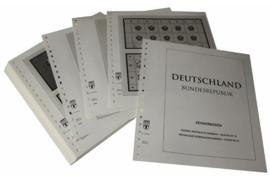 Lindner Inhouden / T-Voordruk albumbladen met folie voorbladen met stroken (Inhoud) Vellen van 10; 2000 (52 bladen) (Lindner 120BK-00)