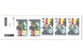 Nederland NVPH PB41 (NVPH 1471) Postfris Postzegelboekje Zomerzegels 1991