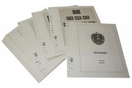 Lindner Inhouden / T-Voordruk albumbladen met folie voorbladen met stroken (Inhoud) Bulgarije 1991-1997 (52 bladen) (Lindner 136-91)
