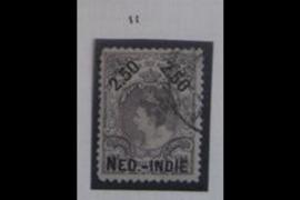 NVPH 37B Gestempeld FOTOLEVERING (2 1/2 gulden) Hulpuitgifte 1900 Lijntanding 11