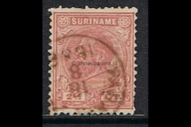 NVPH 3A Gestempeld FOTOLEVERING (2 1/2 cent) Koning Willem III Lijntanding 14 kl.g. 1870-1872