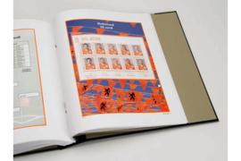 DAVO Luxe bladen Nederland EK postzegels 08 (5e velletje) (2008)