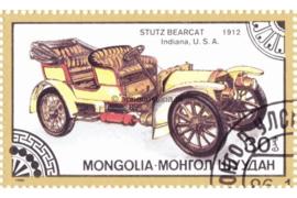 Mongolië Michel 1828 Gestempeld Oldtimers 1986