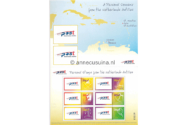 Nederlandse Antillen NVPH 1459 Gestempeld Blok Persoonlijke postzegels ; 6 zegels van 145 ct 2003