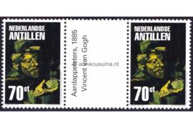 Nederlandse Antillen NVPH 1397a Postfris FOTOLEVERING Brugpaar (70 cent) Amphilex 2002 2002