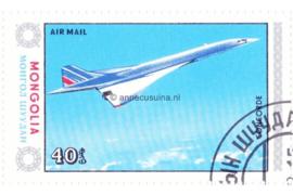 Mongolië Michel 1628 Gestempeld Vliegtuigen 1984
