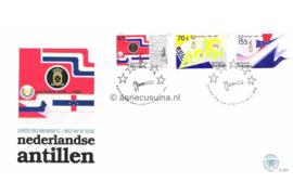NVPH E201 50 jaar Staten van de Nederlandse Antillen 1988