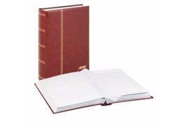 Lindner Insteekalbum Elegant/Luxe 64 blz. Witte bladen/Rode kaft (Lindner 1175-R)