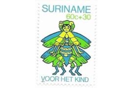 Zonnebloem 228 Postfris (60+30 cent) Kinderzegels met toeslag ten bate van het kind 1980