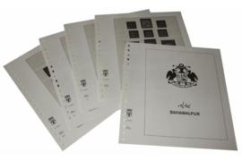 Lindner Inhouden / T-Voordruk albumbladen met folie voorbladen met stroken (Inhoud) Bahawalpur 1945-1949 (5 bladen) (Lindner 509B)