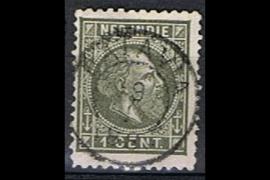 BATAVIA 29-1-188x op NVPH 4 (SvL 5)