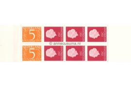 Nederland NVPH PB 2My Postfris Postzegelboekje 2 x 5ct cijfer v. Krimpen + 6 x 15ct Juliana 1964