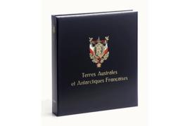 DAVO Luxe postzegelalbum Frankrijk Taaf I 1948-1999 INCL. LUXE CASSETTE