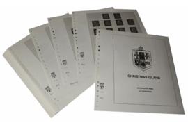 Lindner Inhouden / T-Voordruk albumbladen met folie voorbladen met stroken (Inhoud) Christmas Eiland 1958-1996 (46 bladen) (Lindner 474)