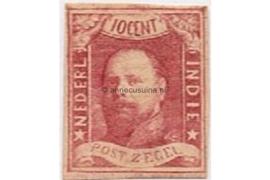 NVPH 1 Ongebruikt FOTOLEVERING 1e emissie Koning Willem III 1864