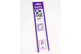 DAVO Easy stroken zwart Z21 (215 x 25) 25 stuks