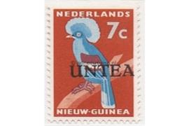 NVPH 4 Postfris (7 cent) Overdrukken op postzegels van Nederlands Nieuw Guinea 1962