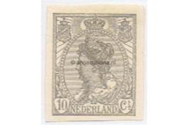 Nederland NVPH 83 Postfris (10 cent) Koningin Wilhelmina (ongetand) 1923