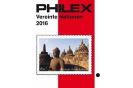 Philex Verenigde Naties 2016 Catalogus in kleur