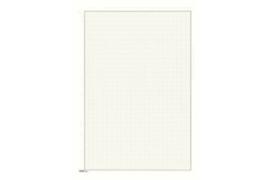 Lindner Blanco blad  Wit karton, Zwarte kaderlijn, Grijze kaderlijn (190 x 285) (Lindner 804a) (per stuk)