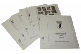 Lindner Inhouden / T-Voordruk albumbladen met folie voorbladen met stroken (Inhoud) Berlijn; Paren uit vellen 1949-1990 (8 bladen) (Lindner 120C-P)