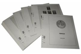 Lindner Inhouden / T-Voordruk albumbladen met folie voorbladen met stroken (Inhoud) Bangladesh 1971-1990 (45 bladen) (Lindner 507)