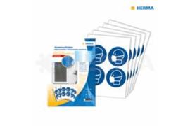 "Herma Gebodstickers ""Mondkapje Dragen"" (ø 10cm) 20 Stickers (Herma 12929)"