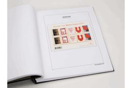 DAVO Luxe bladen Nederland Persoonlijke Postzegels Horizontale Velletjes van 10 (PVH) (per 5 stuks)