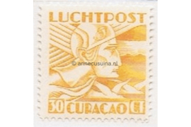 Curaçao NVPH LP8 Ongebruikt (30 cent) Mercuriuskop 1931-1939