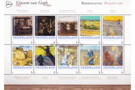 Nederland NVPH 3012-F-2 Postfris Overige velletjes (Persoonlijke Postzegels) Velletje Boerenleven Vincent van Gogh 1853-1890 2015