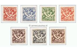 Suriname NVPH LP1-LP7 Postfris Mercuriuskop 1930