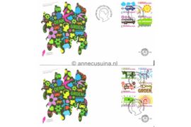 Nederland NVPH E609 Onbeschreven Denk groen, doe groen 2010